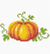 Autumn Pumpkin - Cross Stitch Kit