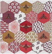 Quilted Bees, The - Cross Stitch Pattern