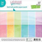 Watercolor Wishes Double-Sided Petite 6x6 Paper Pack