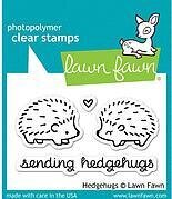 Hedgehugs - Clear Stamp