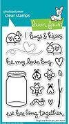 Bugs and Kisses - Clear Stamp