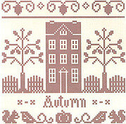 Autumn - Monochromatic Series - Cross Stitch Pattern