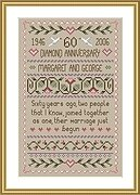 Diamond Wedding - Cross Stitch Pattern