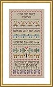 Baby Girl - Birth Sampler - Cross Stitch Pattern