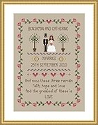 Faith, Hope and Love - Cross Stitch Pattern