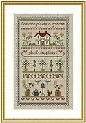 Garden Sampler - Cross Stitch Pattern