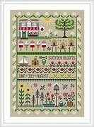 Summer Blooms - Cross Stitch Pattern