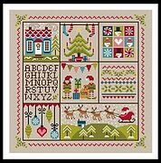 Holly Jolly Christmas - Cross Stitch Pattern