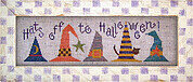 Hats Off to Halloween - Lizzie Kate Cross Stitch Pattern