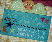 Child Was Born, A - Cross Stitch Pattern