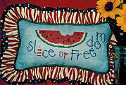 Slice of Freedom, A - Cross Stitch Pattern