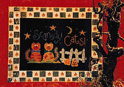Scaredy Cats - Cross Stitch Pattern