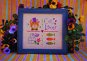 Cat Lovers Too - Cross Stitch Pattern