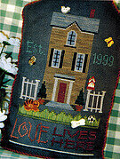 Our House - Cross Stitch Pattern