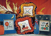 Halloween Highway - Cross Stitch Pattern