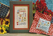 Liberty Sampler - Cross Stitch Pattern