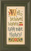 Well Behaved Women - Cross Stitch Pattern