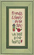 Friends & Family - Cross Stitch Pattern