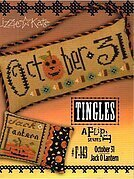 Tingles - October 31/Jack-O-Lantern - Cross Stitch Pattern