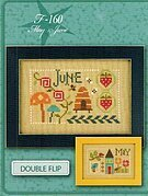 Yearbook - May & June - Cross Stitch Pattern