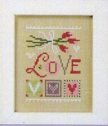 Celebrate with Charm - Love Flip It - Cross Stitch Pattern