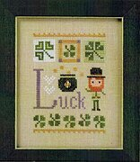Celebrate with Charm - Luck Flip It - Cross Stitch Pattern