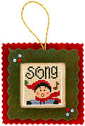 Song - 12 Blessings of Christmas - Cross Stitch Pattern