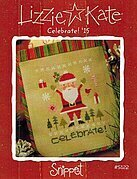 Celebrate! Santa 2015 - Cross Stitch Pattern