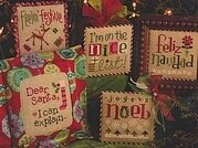 Tiny Tidings XV - Cross Stitch Pattern
