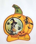 Witch on Broomstick - Marianne Design Halloween Craft Die