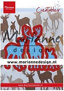 Tiny's Deer Family - Marianne Design Creatables Die