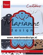 Brocante Label - Marianne Design Creatables Die