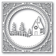 Memory Box Country Church Frame - Christmas Craft Die