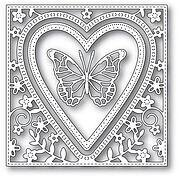 Butterfly Heart Frame - Valentine's Day Craft Die