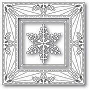 Bauble Snowflake Frame - Memory Box Craft Die