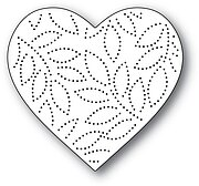 Pinpoint Leaf Heart - Valentine's Memory Box Craft Die
