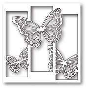 Memory Box ~ REVERSE BUTTERFLY COLLAGE  ~  Die ~ NEW ~ 99145