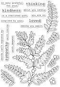 Fern and Berries - Clear Stamp