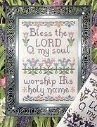 Bless the Lord - Cross Stitch Pattern
