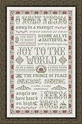 Hymns of Christmas - Cross Stitch Pattern