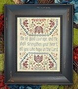 Be of Good Courage - Cross Stitch Pattern