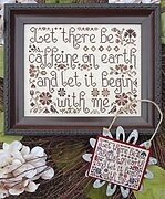 Let it Begin With Me - Cross Stitch Pattern