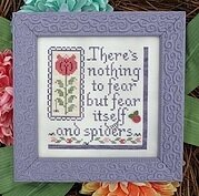 Nothing to Fear - Cross Stitch Pattern