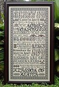 Beatitudes - Cross Stitch Pattern
