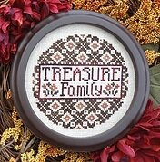 Treasure Family - Cross Stitch Pattern