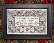 Prince of Peace - Cross Stitch Pattern