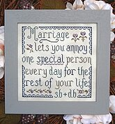 Marriage - Cross Stitch Pattern