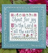 Shout For Joy - Cross Stitch Pattern