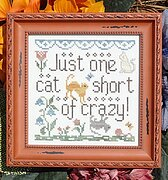 Cat Crazy - Cross Stitch Pattern