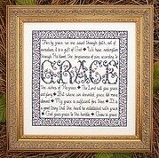 Building Blocks - Grace - Cross Stitch Pattern